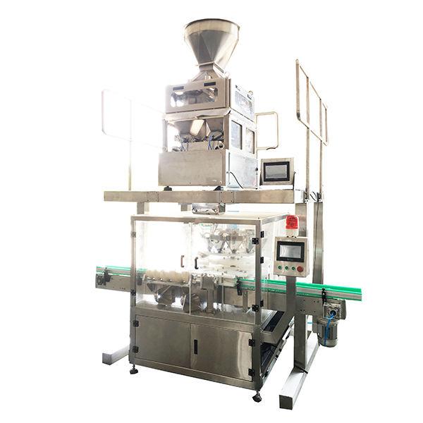 salt powder spice bottle filling machine